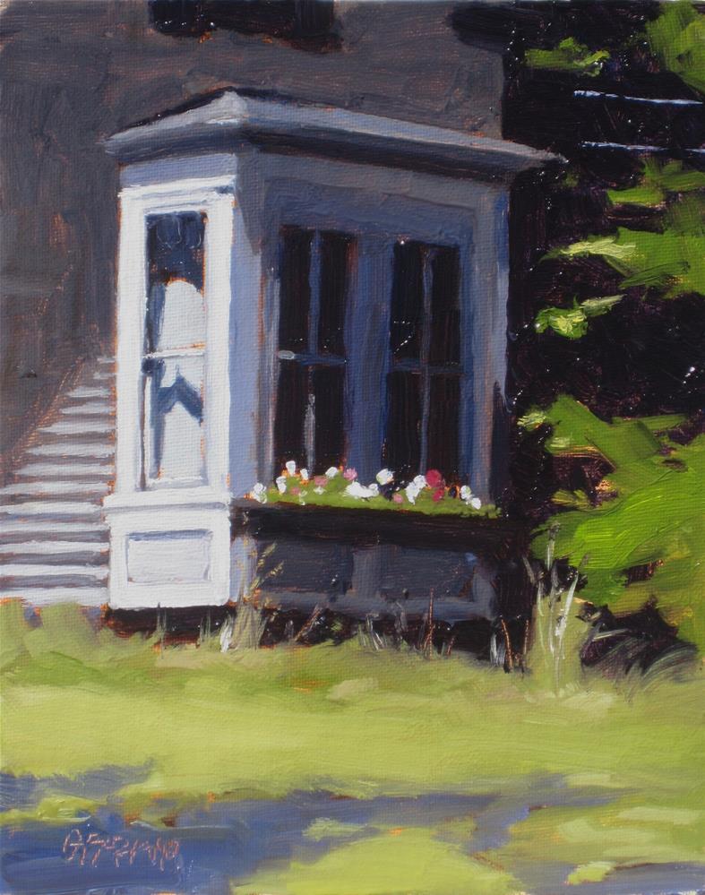"""bay window"" original fine art by Dan Graziano"