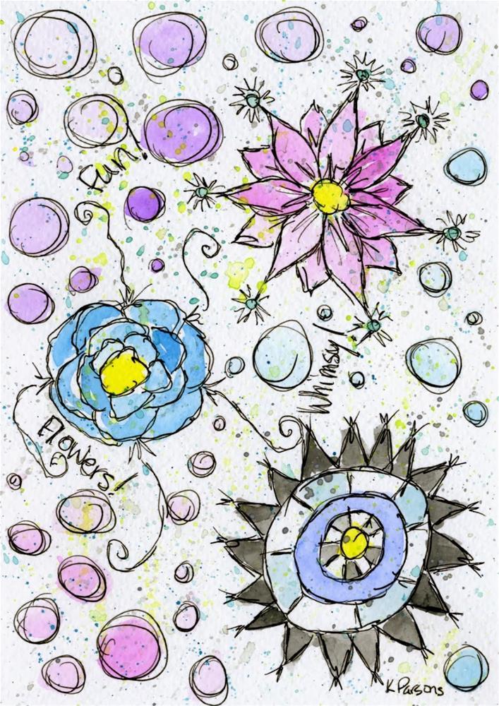"""Filling the Empty Nest"" original fine art by Kali Parsons"