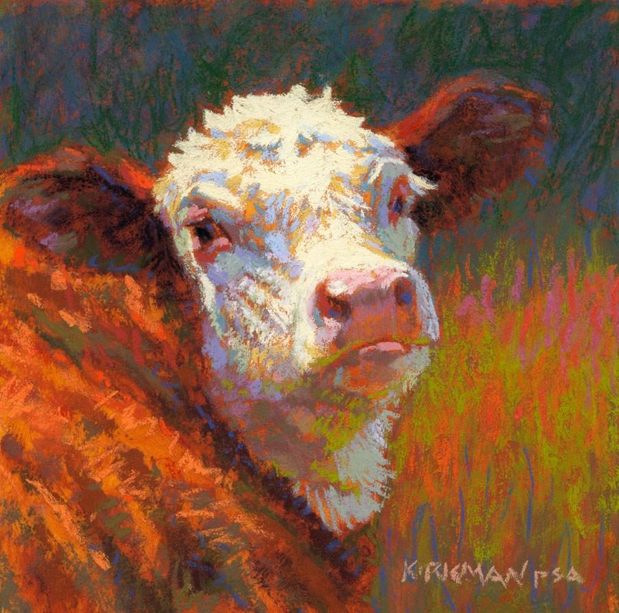 """Fritz"" original fine art by Rita Kirkman"