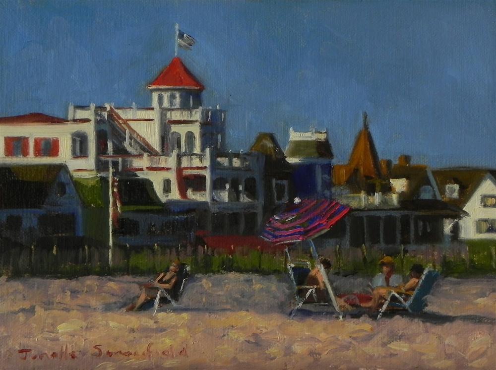 """Early Evening at the Beach"" original fine art by Jonelle Summerfield"