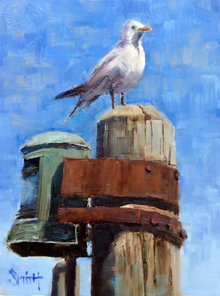 """Keeping Watch"" original fine art by Barbie Smith"