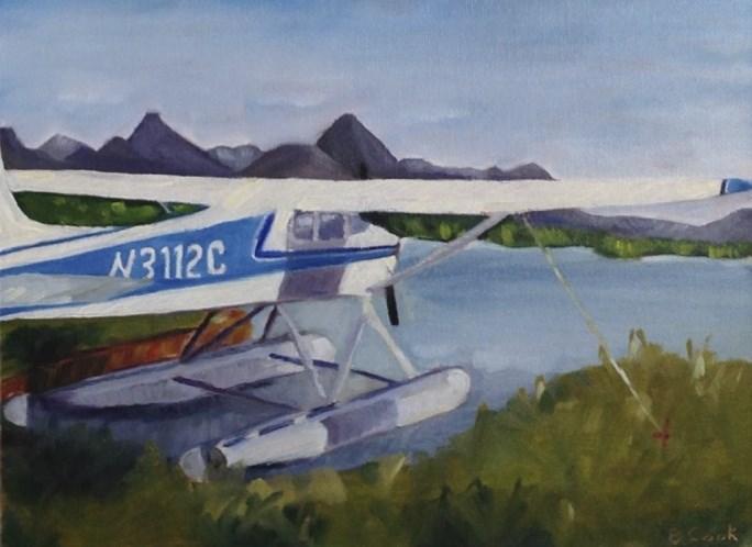 """Lake Hood 180"" original fine art by Bobbie Cook"