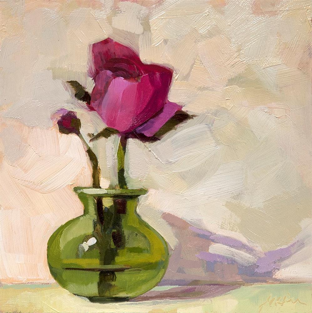 """""""Ranunculus II"""" original fine art by Miriam Hill"""