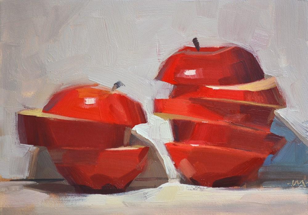 """Slice Off"" original fine art by Carol Marine"