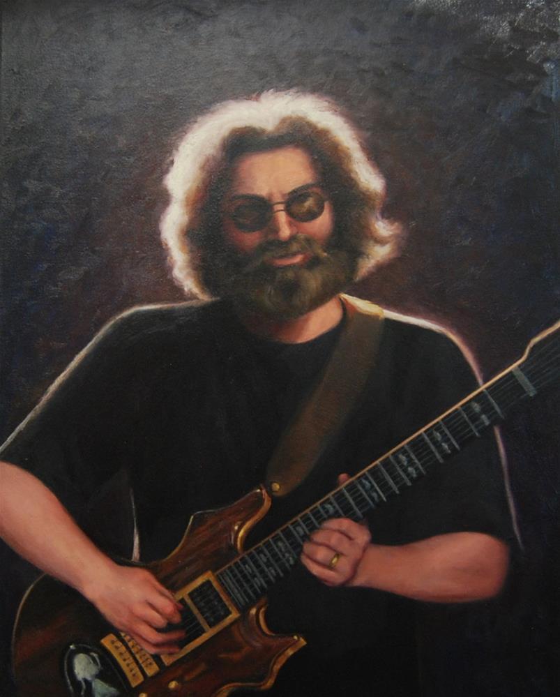 """""""Jerry"""" original fine art by Cheryl Meehan"""