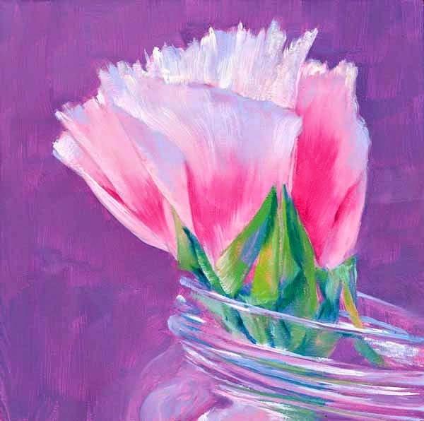 """""""It's Delicate"""" original fine art by Brenda Ferguson"""