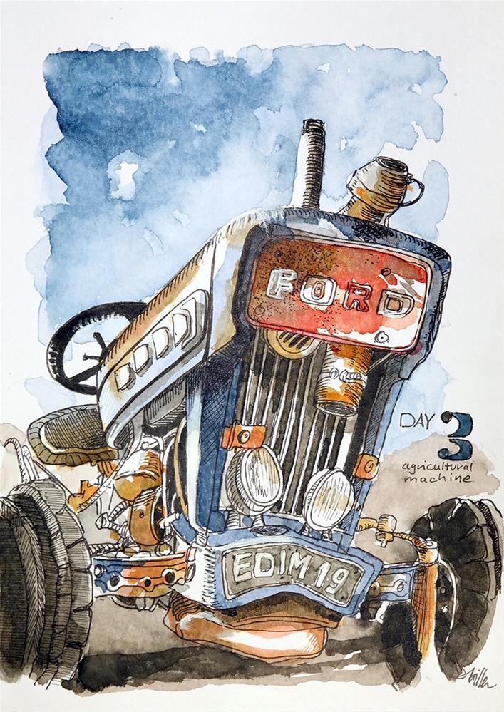 """2811 - EDiM Best of Part I"" original fine art by Dietmar Stiller"