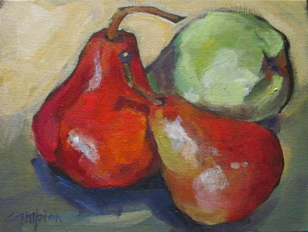 """173 Tumbling"" original fine art by Diane Campion"