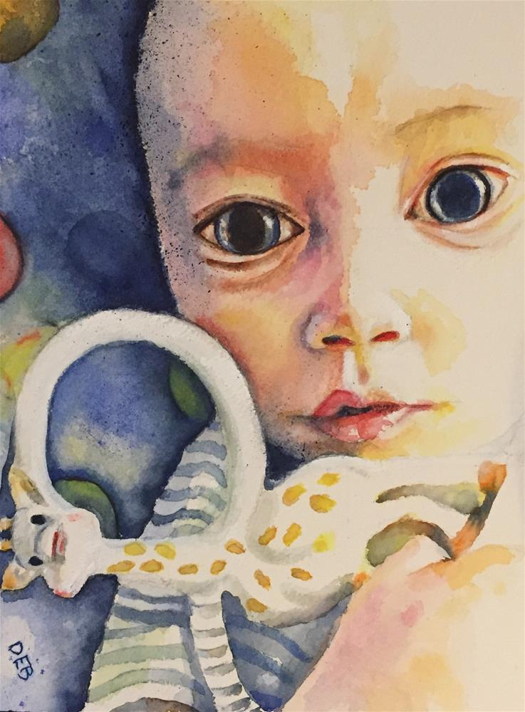 """Timothy"" original fine art by Debbie Yacenda"