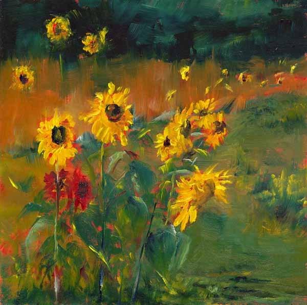 """Sunny Daze"" original fine art by Brenda Ferguson"