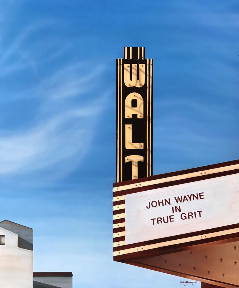 """The Walt (John Wayne)"" original fine art by Fred Schollmeyer"