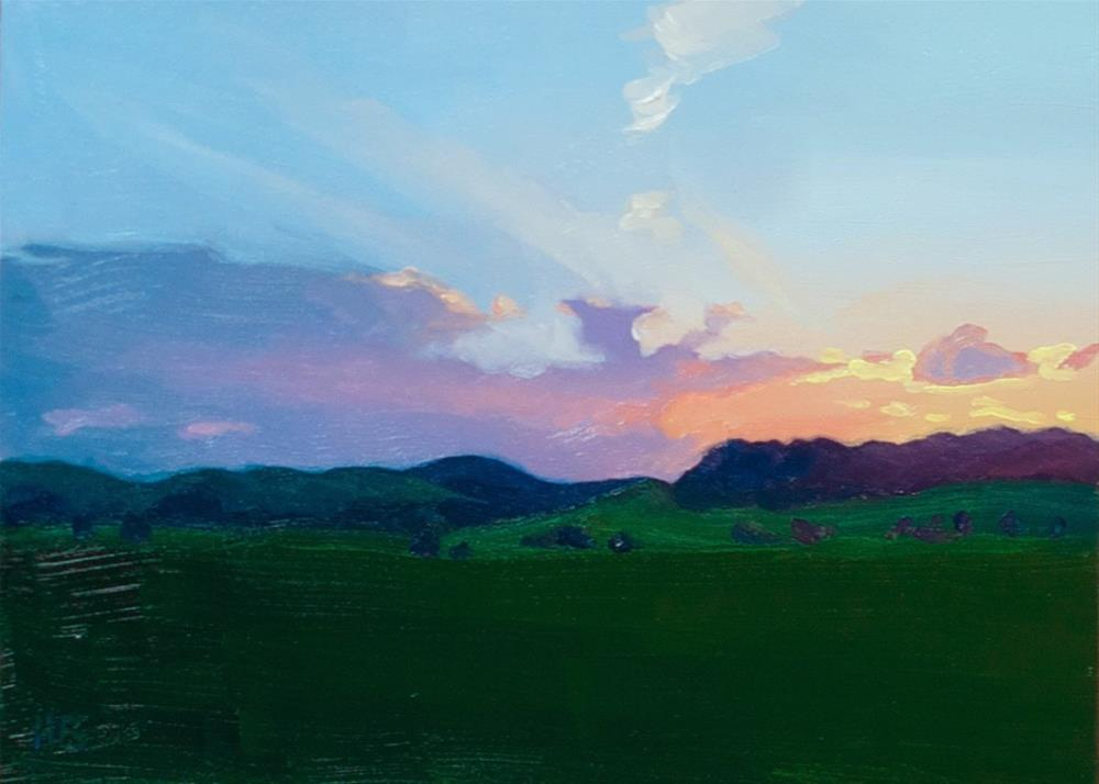 """Serenity"" original fine art by Heather Bullach"