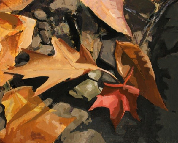 """Oak, Beech and Maple"" original fine art by Chris Breier"