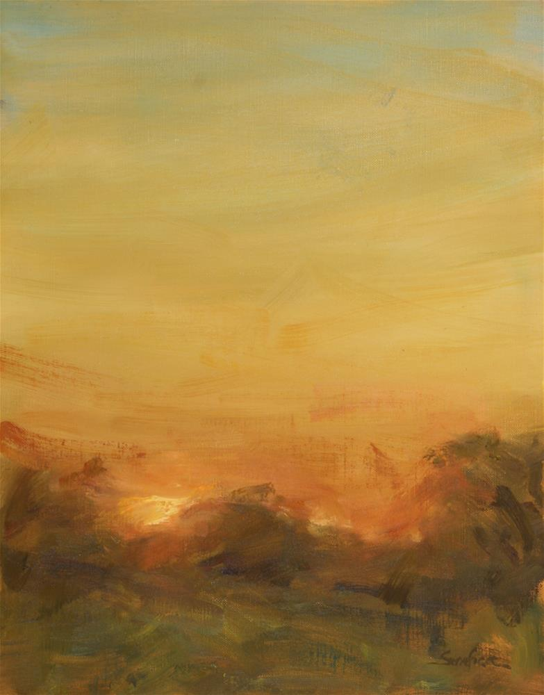 """""""Warmth"""" original fine art by Scott Serafica"""