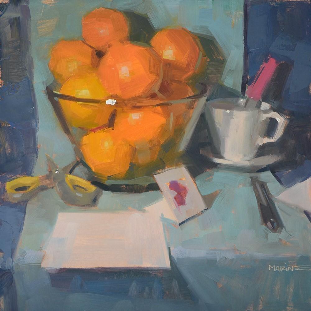 """Love Notes"" original fine art by Carol Marine"