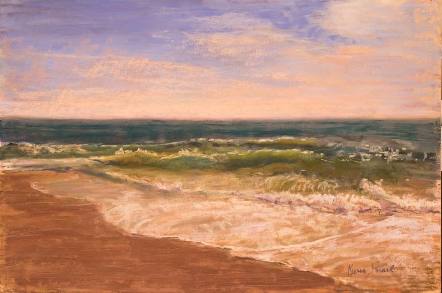 """Sea Chords"" original fine art by karen israel"