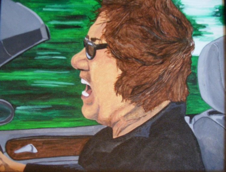 """Singin in The Wind"" original fine art by Kathleen Carrier"