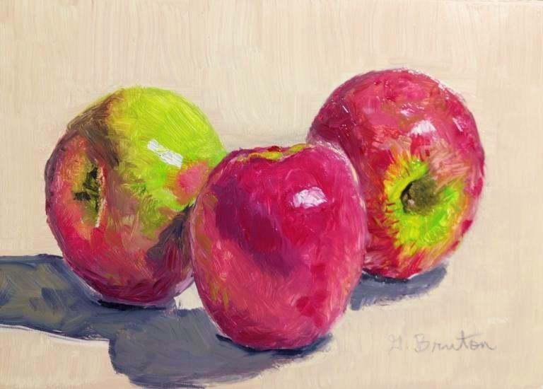 """""""Pink Ladies"""" original fine art by Gary Bruton"""