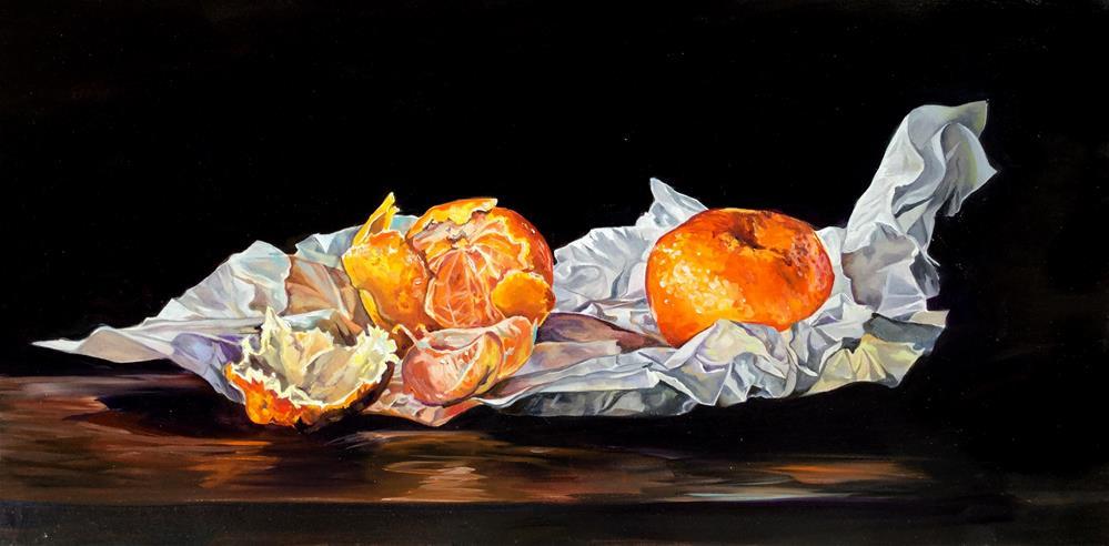 """Peel Appeal"" original fine art by Lauren Kuhn"