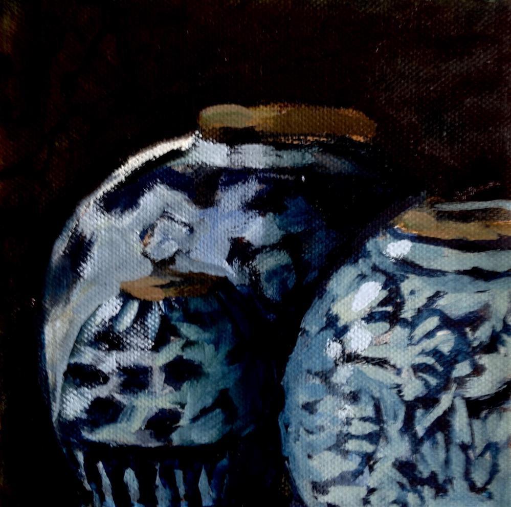 """""""Three Daughters"""" original fine art by Pamela Hoffmeister"""