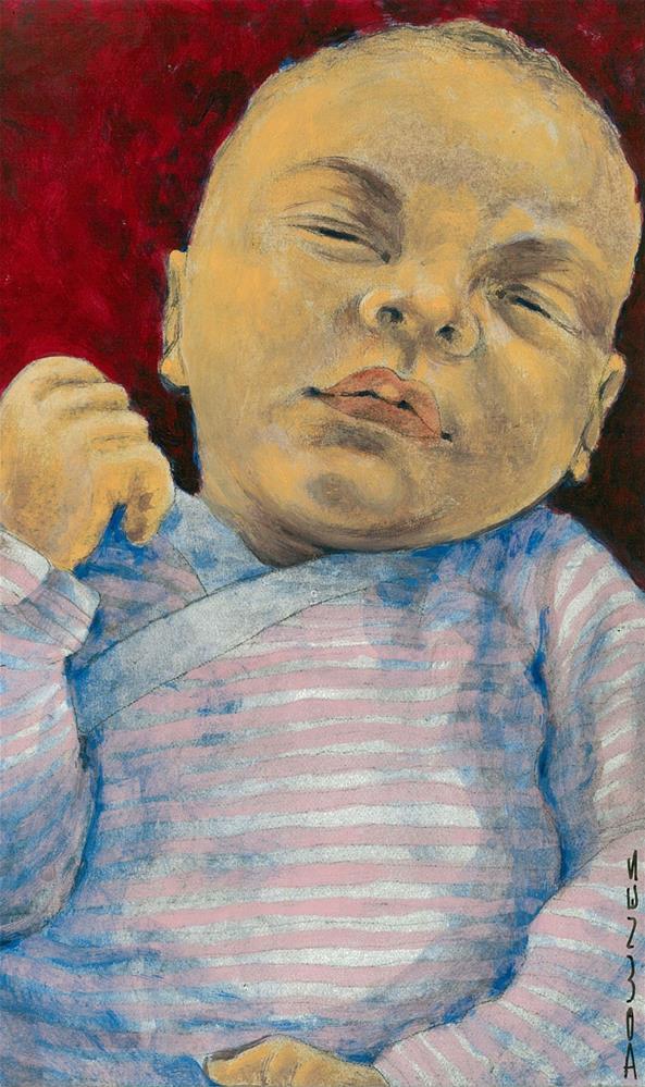 """353 ANJA"" original fine art by Trevor Downes"
