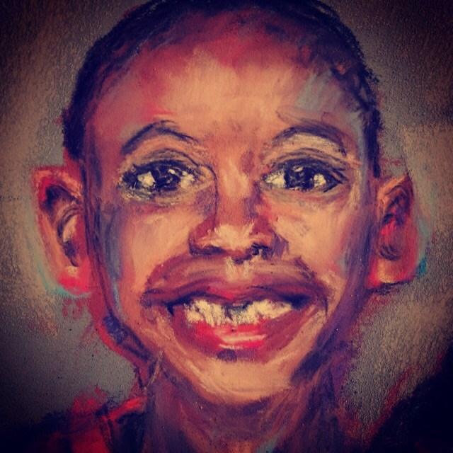 """Pure Joy"" original fine art by Michelle Linnihan"