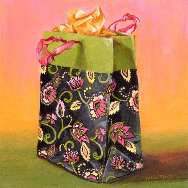 """""""The Gift"""" original fine art by Kathleen Williford"""
