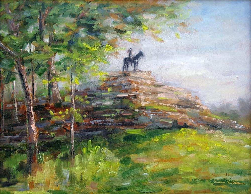 """""""The Scout"""" original fine art by Tammie Dickerson"""