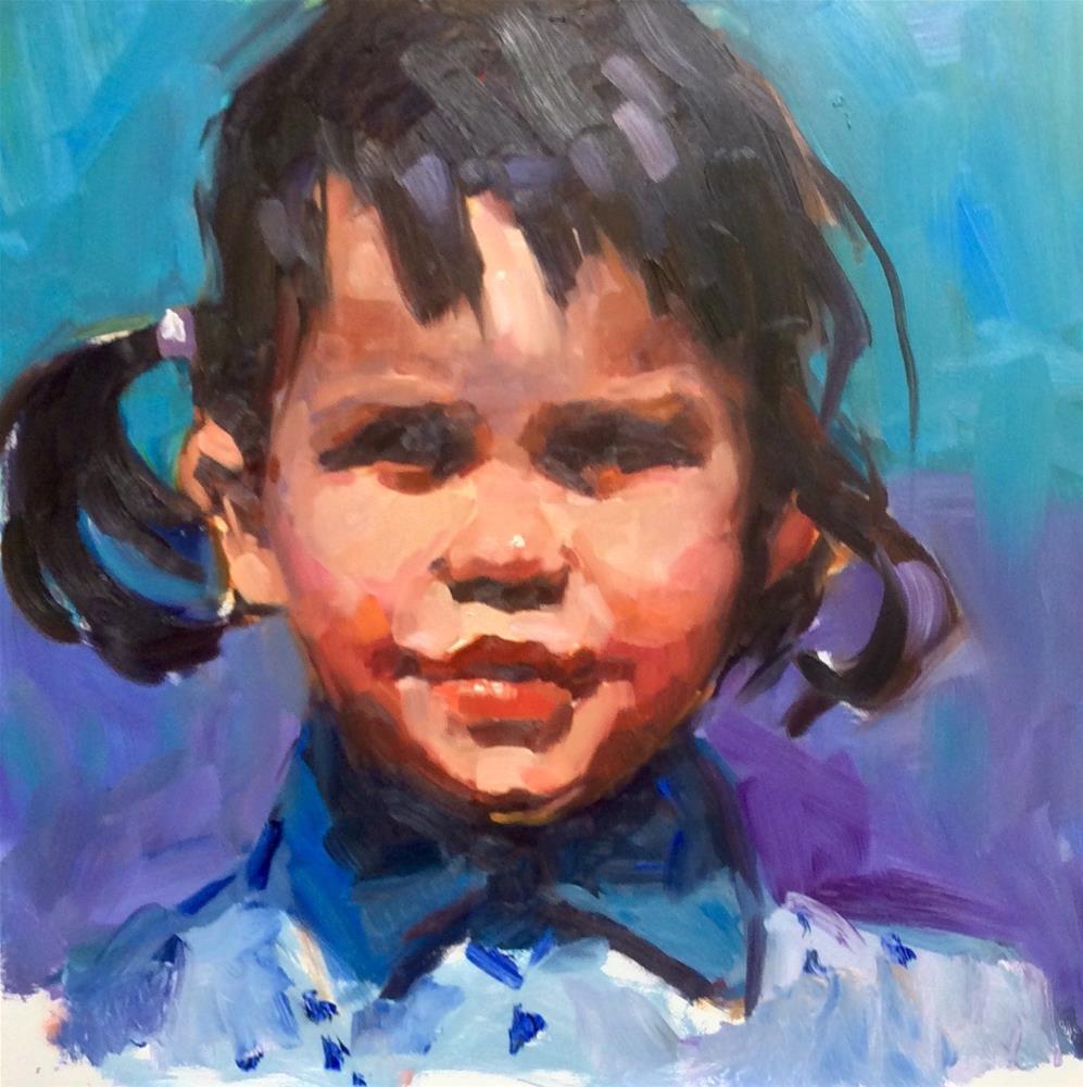 """Beyond Adorable"" original fine art by Laurie Johnson Lepkowska"