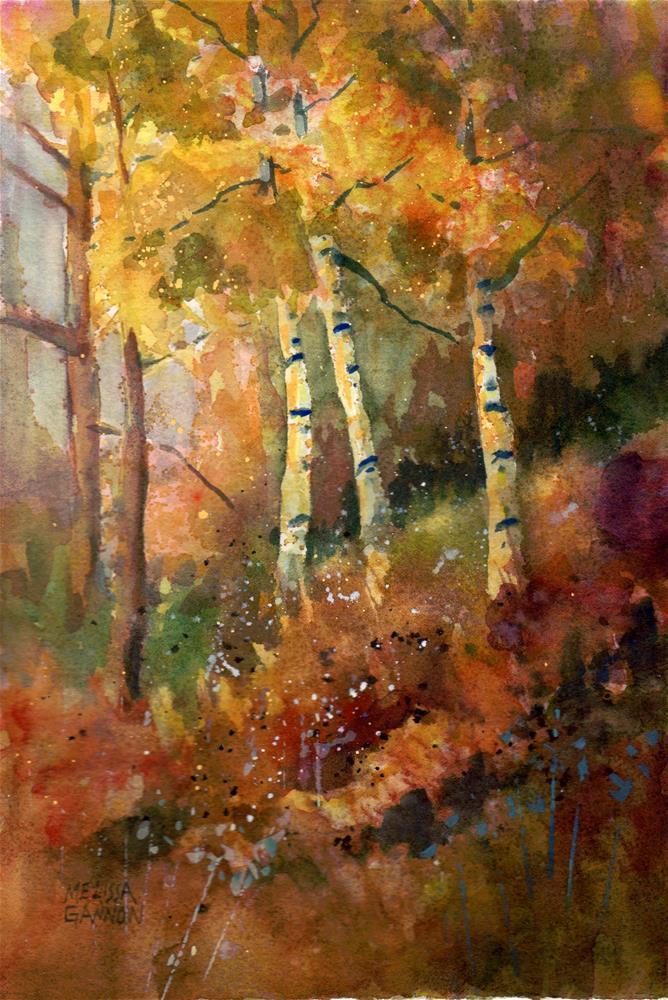 """""""Forest Colors"""" original fine art by Melissa Gannon"""