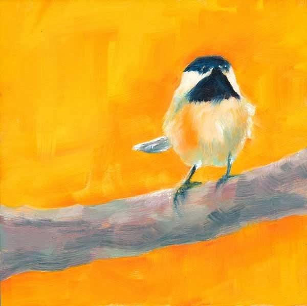 """Me Chick"" original fine art by Brenda Ferguson"