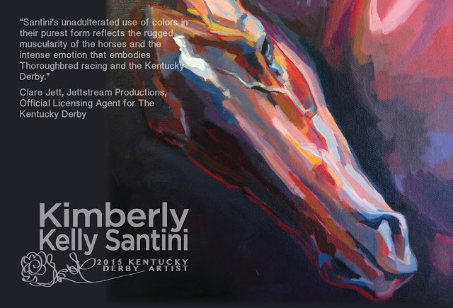 """""""What's Your Kentucky Derby Story?"""" original fine art by Kimberly Santini"""