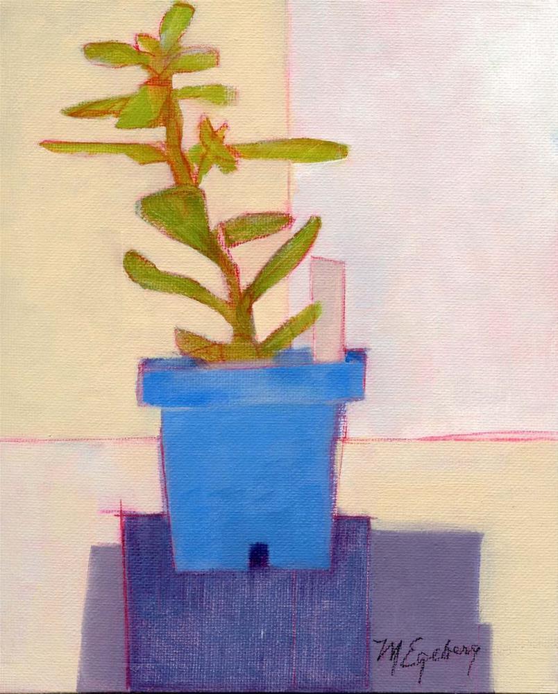"""Jade Plant"" original fine art by Mitch Egeberg"