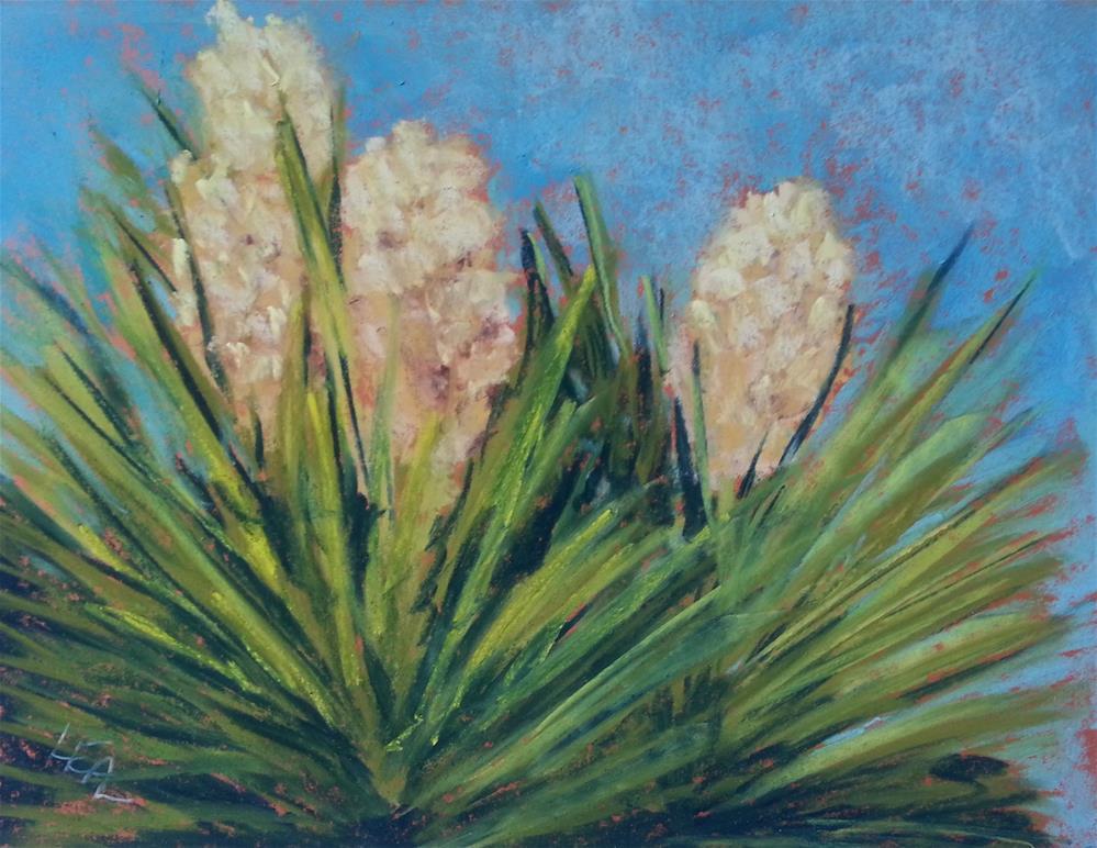 """Yucca Morning"" original fine art by Anna Lisa Leal"