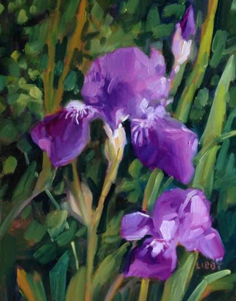 """April Acclaim"" original fine art by Libby Anderson"