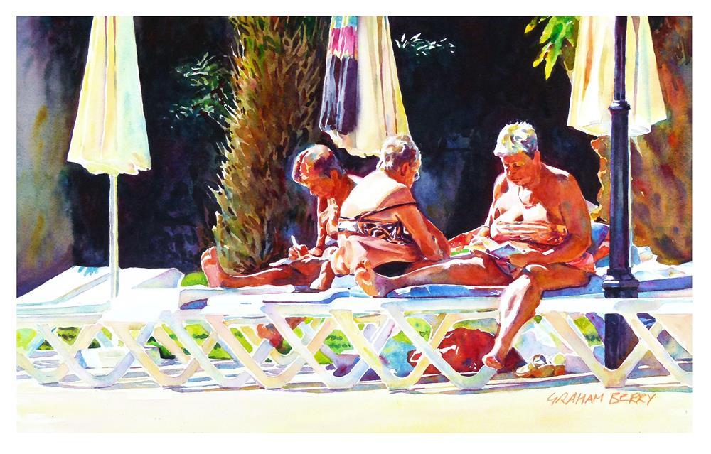 """""""Golden girls"""" original fine art by Graham Berry"""