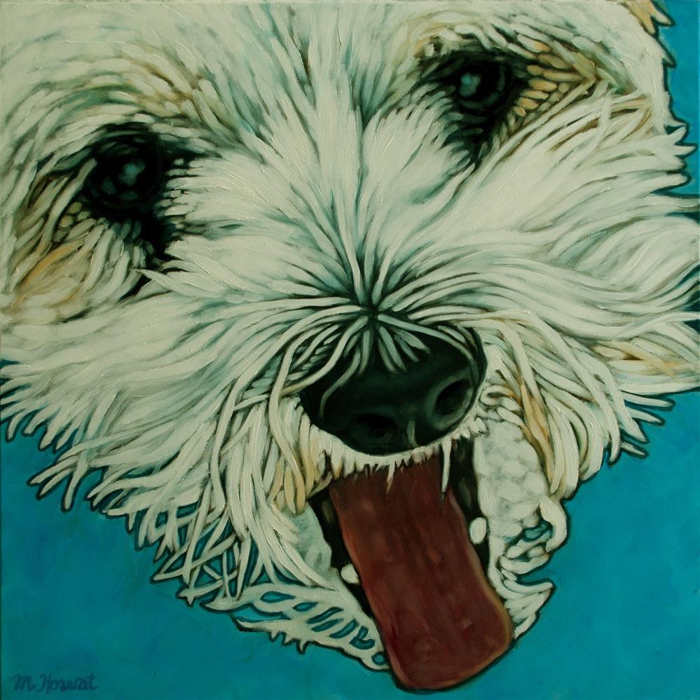 """""""Harley's Nose"""" original fine art by Margaret Horvat"""