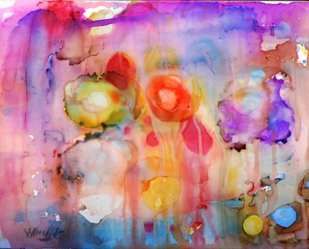 """Mirage 4"" original fine art by Vicki Wood"
