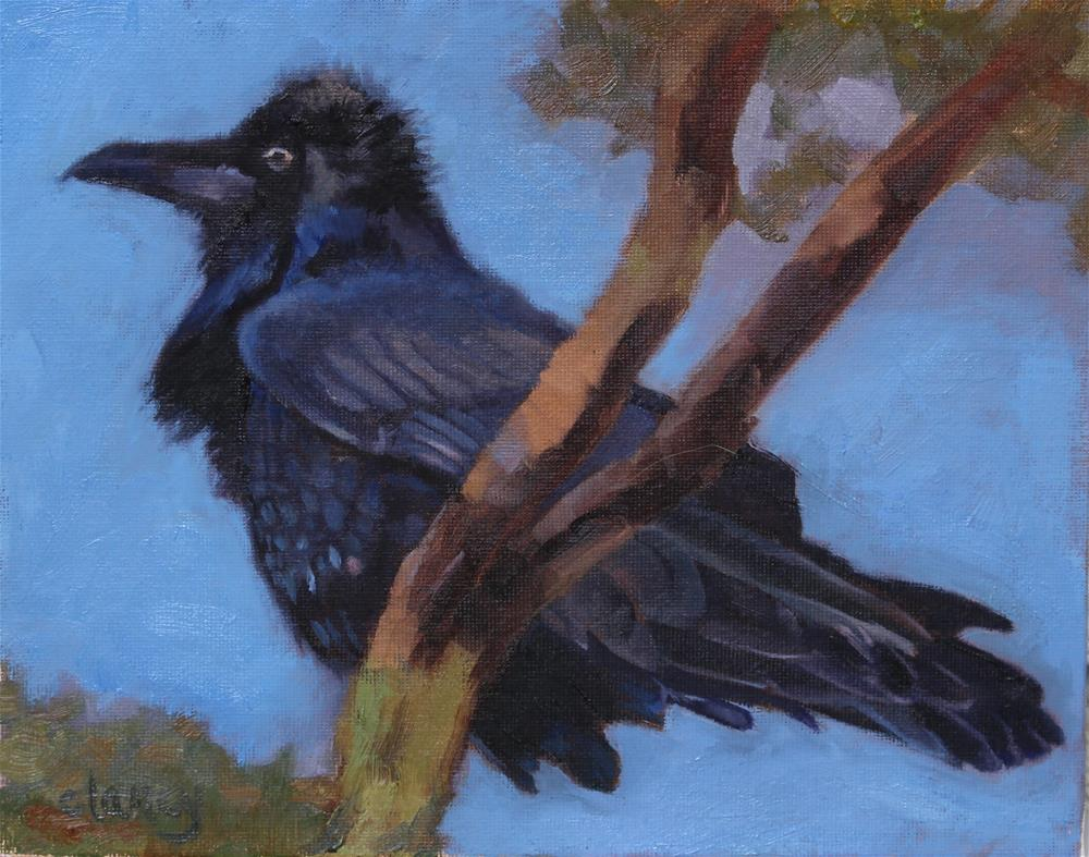 """""""Ready and Waiting"""" original fine art by Catherine Clancy"""