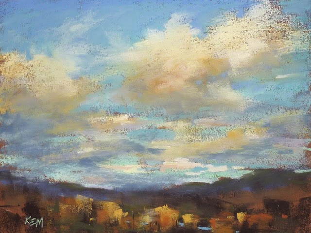 """Clouds and Skies Oh My!"" original fine art by Karen Margulis"