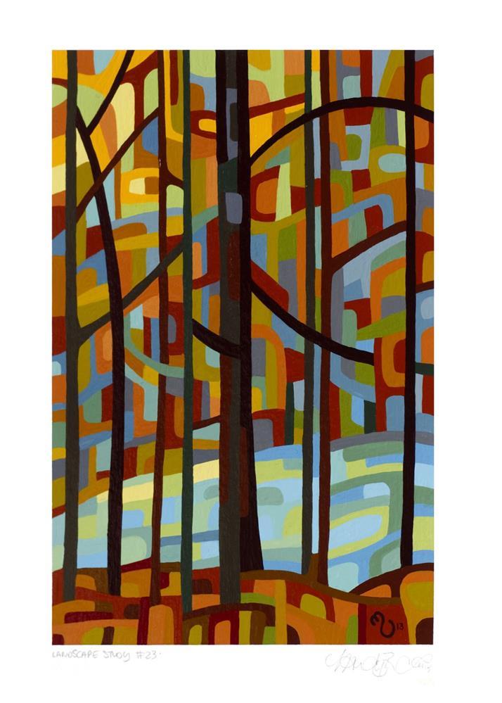 """Landscape Study #23"" original fine art by Mandy Budan"