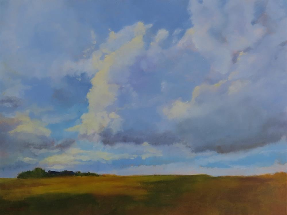 """Getting Ready To Rain"" original fine art by Pam Holnback"