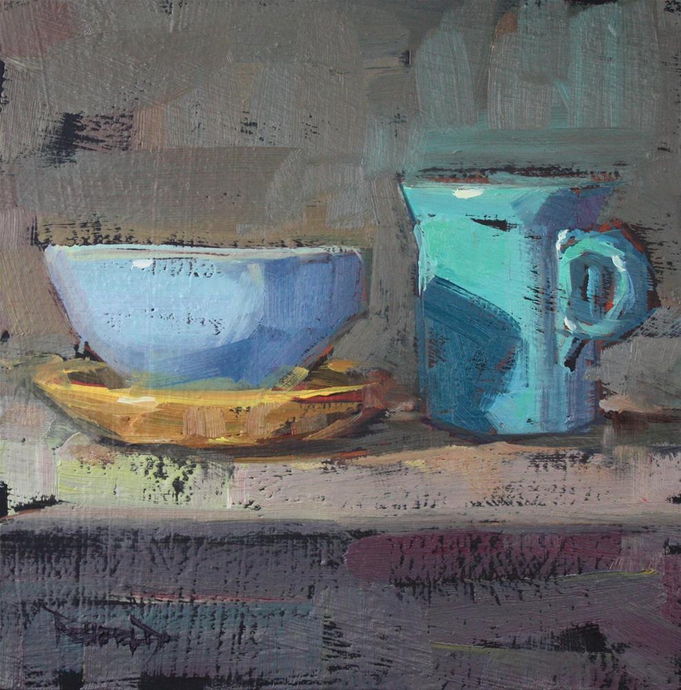 """The Blues"" original fine art by Cathleen Rehfeld"