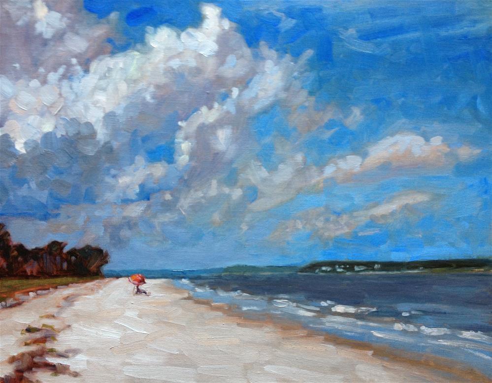 """View from Daufuskie"" original fine art by Colleen Parker"