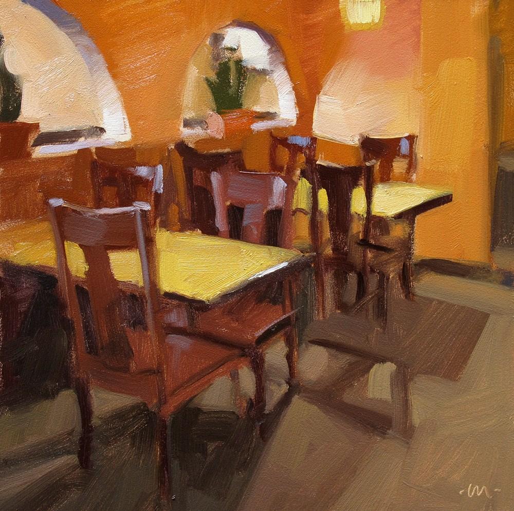 """Before the Crowd"" original fine art by Carol Marine"