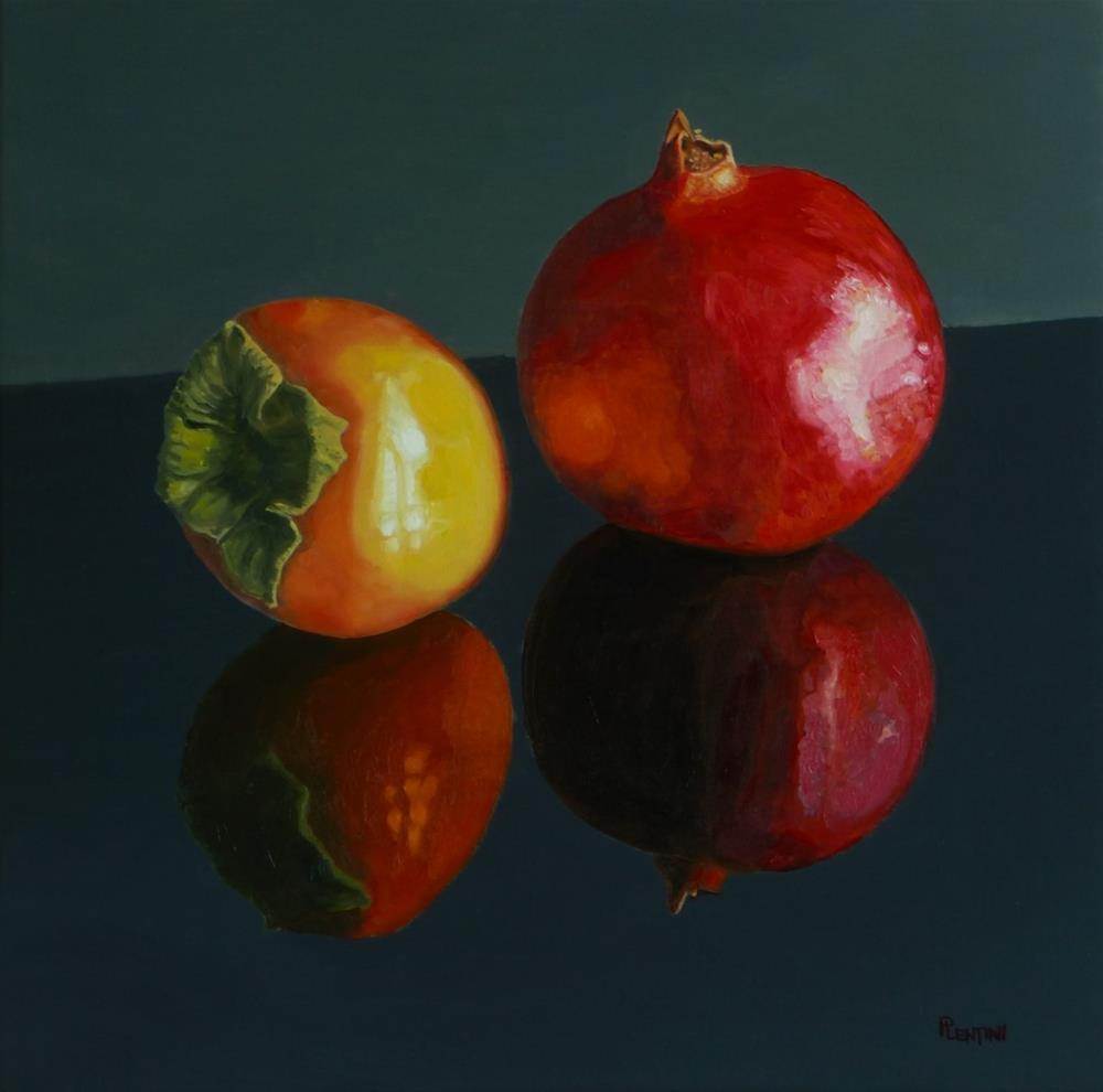 """Duo et al"" original fine art by Peter Lentini"