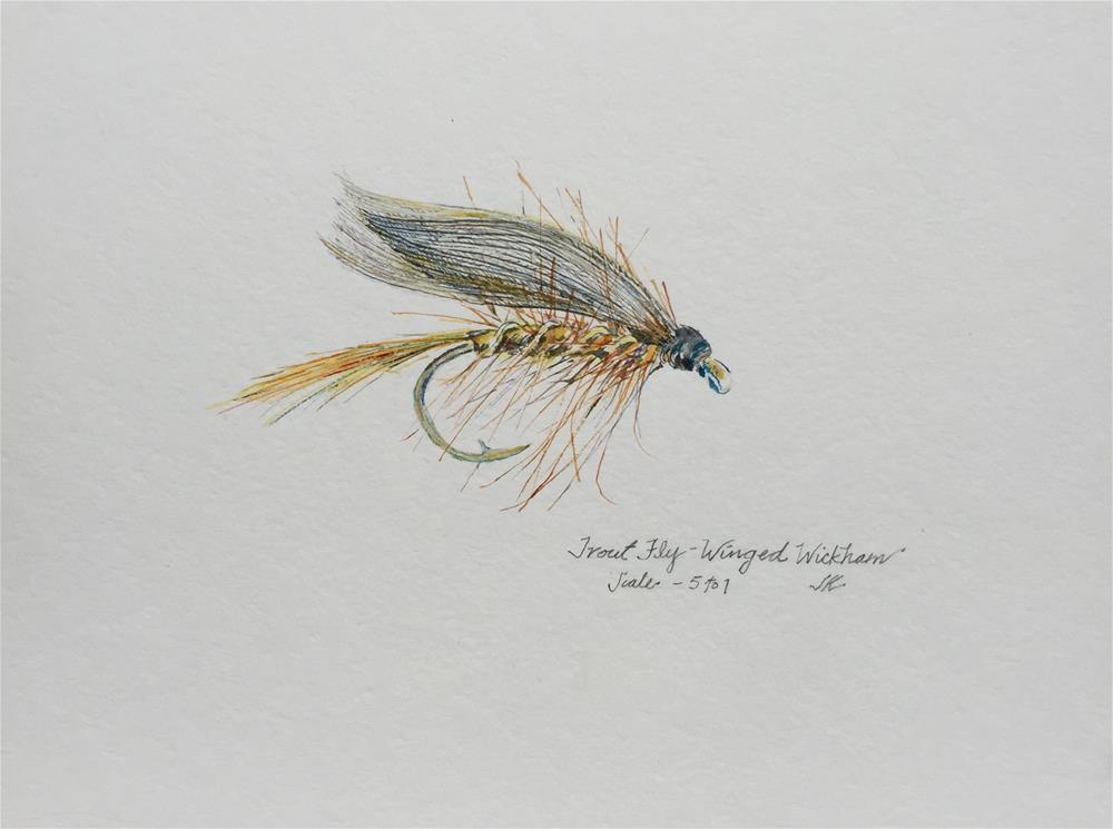 """""""Winged Wickham"""" original fine art by Jean Krueger"""