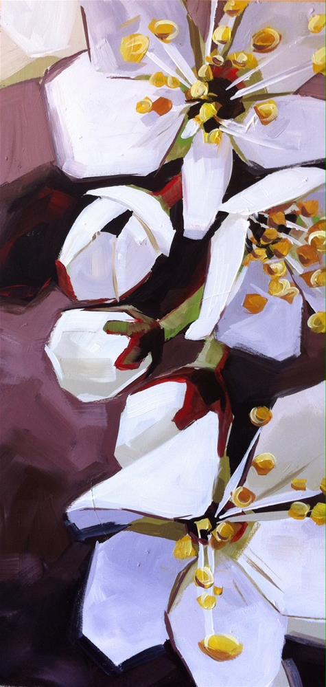 """Signs of Spring"" original fine art by Teddi Parker"