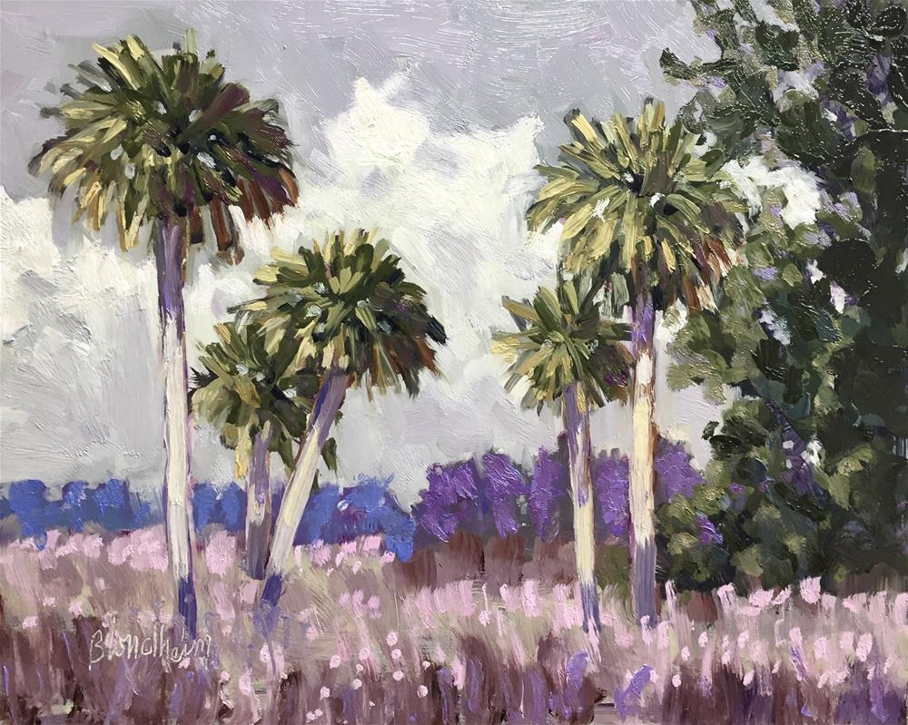 """""""Overcast Afternoon"""" original fine art by Linda Blondheim"""