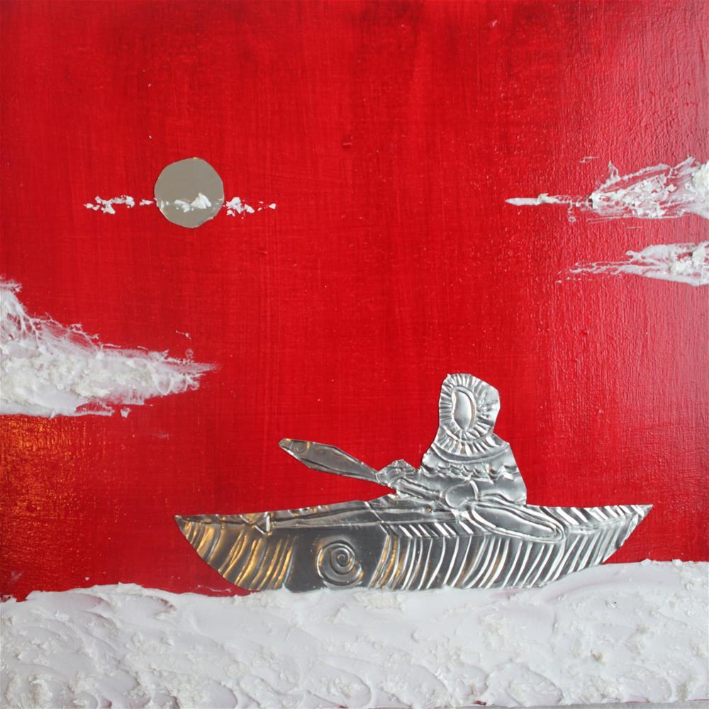 """Arctic Commute"" original fine art by Christiane Kingsley"